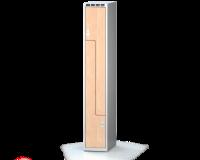 Šatní skříňky - dveře tvaru Z, lamino D3M 30 1 Z S