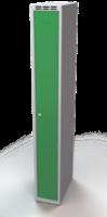 Šatňové skrinky - dvouplášťové dvere A1M 25 1 1 S