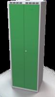 Šatňové skrinky - dvouplášťové dvere A1M 35 2 K S