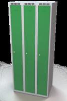 Šatníková skrinka Aldop - dvojplášťové dvere, šírka / počet oddelenia: 250 mm / 1