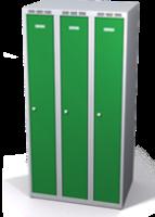 Šatňové skrinky zníženej - dvojplášťové dvere A1M 25 3 1 S V15