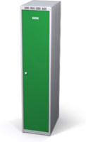 Šatňové skrinky zníženej - dvojplášťové dvere A1M 40 1 1 S V15