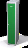 Šatníková skrinka Aldop znížená - dvojplášťové dvere, šírka / počet oddelenia: 300 mm / 1