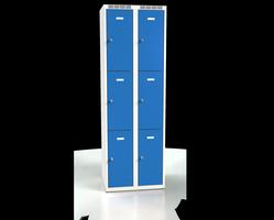 Skříň s boxy - jednoplášťové dveře L2M 30 2 3 O