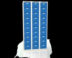 Skříň s boxy - jednoplášťové dveře L2M 30 3 10 O