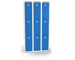 Skříň s boxy - jednoplášťové dveře L2M 30 3 3 O