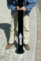 Stĺpik - oceľ MM330013