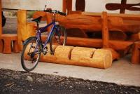 Stojan na bicykle - drevo MM700247