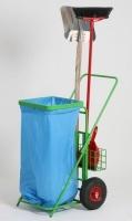Vozík na odpadkové vrecia - oceľ MM700155