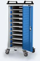 Nabíjací vozík pre tablety / notebooky - 10 zariadení