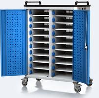 Nabíjací vozík pre tablety / notebooky - 20 zariadení
