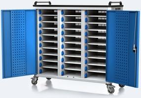 Nabíjací vozík pre tablety / notebooky - 30 zariadení