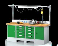 Zostavy pracovných stolov SESTAVA 11